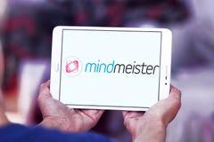 Логотип применения отображения разума MindMeister Стоковое фото RF