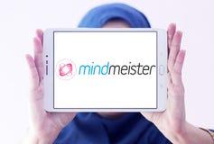 Логотип применения отображения разума MindMeister Стоковая Фотография