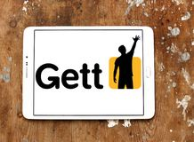 Логотип применения такси Gett Стоковая Фотография