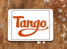 Логотип применения танго Стоковое Изображение