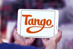 Логотип применения танго Стоковое фото RF