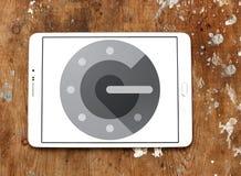 Логотип применения Authenticator Google Стоковая Фотография
