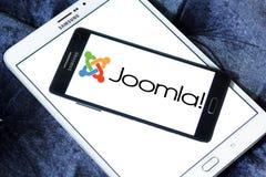 Логотип применения Joomla Стоковое фото RF