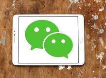 Логотип применения WeChat передвижной Стоковая Фотография RF