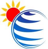 Логотип природы иллюстрация штока