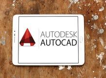 Логотип программы AutoCAD стоковая фотография rf
