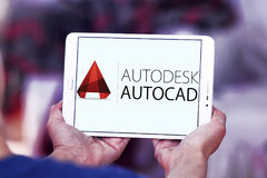 Логотип программы AutoCAD стоковая фотография
