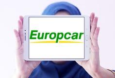 Логотип проката автомобиля Europcar Стоковые Фотографии RF