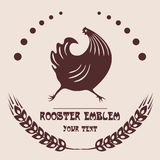Логотип птицефермы Стоковые Фото