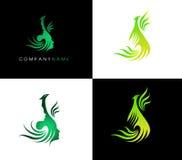 Логотип птицы Феникса Стоковая Фотография RF