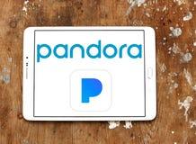 Логотип радио интернета Пандоры Стоковые Изображения RF