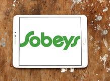 Логотип розничного торговца еды Sobeys Стоковые Фото