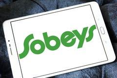 Логотип розничного торговца еды Sobeys Стоковое фото RF