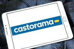 Логотип розничного торговца Castorama Стоковая Фотография RF