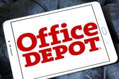 Логотип розничного торговца Office Depot Стоковое Изображение RF