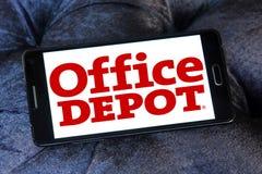 Логотип розничного торговца Office Depot Стоковая Фотография RF
