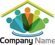 Логотип родного дома иллюстрация вектора