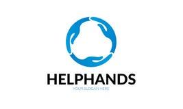 Логотип руки помощи Стоковое Фото