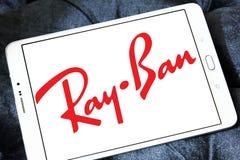 Логотип Рэй-запрета стоковые изображения rf