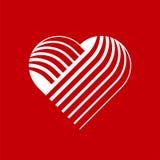 Логотип сердца вектора иллюстрация штока