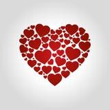 Логотип сердец Стоковые Изображения
