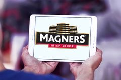 Логотип сидра Magners ирландский стоковое фото rf