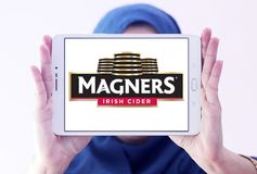 Логотип сидра Magners ирландский стоковое фото