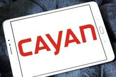Логотип системы платежей Cayan Стоковые Изображения