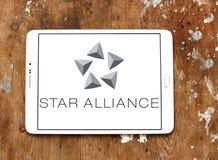Логотип союзничества звезды Стоковая Фотография RF