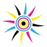Логотип Солнця Стоковая Фотография