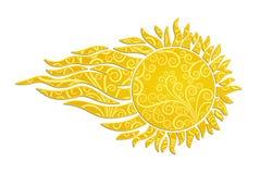 Логотип Солнця Стоковая Фотография RF