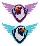 Логотип спорта орла для команды коллежа Стоковые Фото