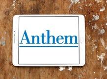 Логотип страховой компании медицинской страховки гимна Стоковое Изображение