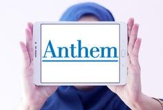 Логотип страховой компании медицинской страховки гимна Стоковые Фото