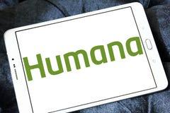 Логотип страховой компании медицинской страховки Humana Стоковое фото RF