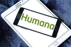 Логотип страховой компании медицинской страховки Humana Стоковые Изображения