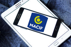 Логотип страховой компании Macif Стоковые Фотографии RF