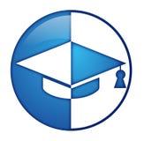 Логотип студента Стоковые Фото