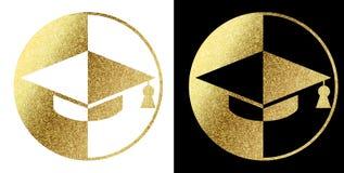 Логотип студента Стоковое Изображение