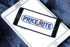 Логотип супермаркетов PriceRite Стоковые Изображения