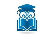 Логотип сыча Стоковое Изображение