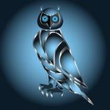 Логотип сыча Стоковые Фото