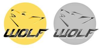 Логотип творческого волка вектора главный в полигоне или стиле PolyArt Современный профессиональный логотип волка для команды дел бесплатная иллюстрация