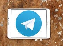 Логотип телеграммы Стоковое Фото