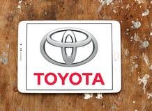Логотип Тойота стоковые изображения rf