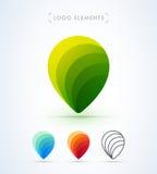 Логотип указателя вектора Стоковое Фото