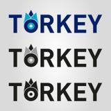 Логотип дурного глаза Турции Стоковая Фотография RF
