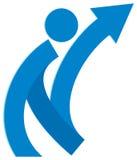 Логотип успеха иллюстрация вектора