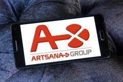 Логотип фармацевтической компании Artsana Стоковая Фотография