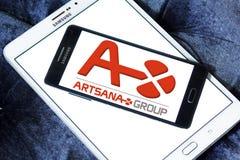 Логотип фармацевтической компании Artsana Стоковая Фотография RF